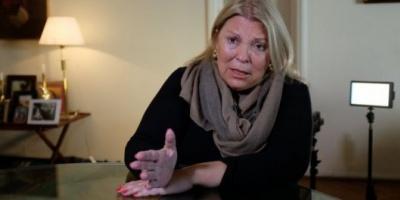 "Elisa Carrió advierte: ""Si nos quieren hacer fraude vamos a salir a la calle"""