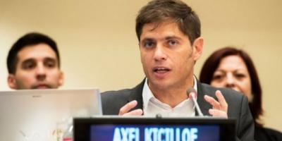 """Kicillof: """"No pasa nada en Argentina que requiera un cambio drástico"""""""
