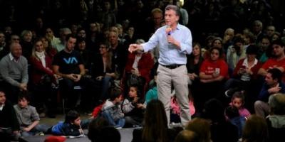 """Mauricio Macri, a sus fiscales: """"Si se van a las 18, nos vuelven a currar"""""""