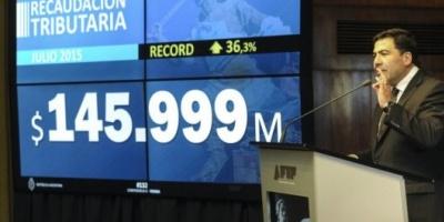 La recaudación superó los $145 mil millones en julio y marcó un nuevo récord