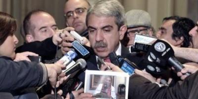 Aníbal Fernández denunciará a Carrió por el informe del programa de Lanata