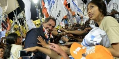 """Scioli: """"Pensemos en salir a votar a favor de la Argentina"""""""