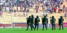 Suspendieron Godoy Cruz-Racing por incidentes en la tribuna local