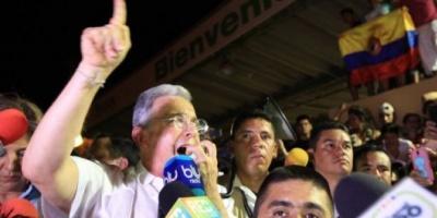 """Álvaro Uribe: """"Los cabecillas de las FARC tienen que ir a la cárcel"""""""