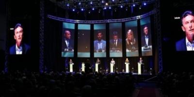 Por primera vez en la historia, Argentina tuvo su debate presidencial