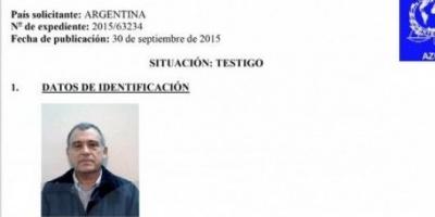Interpol Argentina emitió una nueva comunicación a la oficina de Washington por Stiuso