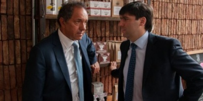 Daniel Scioli anunció que Diego Bossio será su ministro de Infraestructura