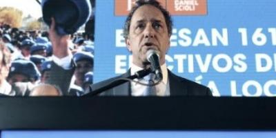 """Scioli: """"Quiero convocar al verdadero voto útil que está a favor del país"""""""