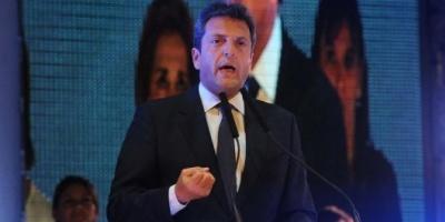 """Sergio Massa le respondió a Mauricio Macri y lo desafió a """"un gran debate mano a mano"""""""