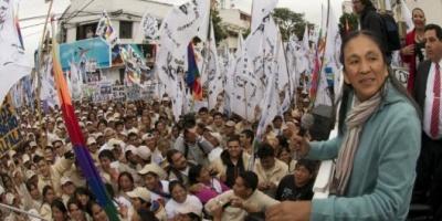 Milagro Sala renunció a la Legislatura jujeña para asumir en el Parlasur