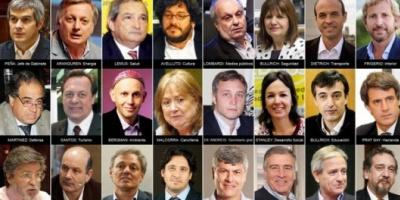 Marcos Peña anunció los ministros que integrarán el Gabinete de Macri