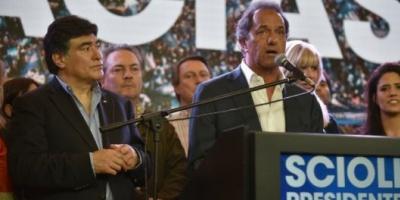 """Scioli: """"La gente eligió una alternancia y yo voy a defender a toda esa gente"""""""