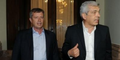 Julián Domínguez y Emilio Monzó iniciaron el proceso de transición en Diputados
