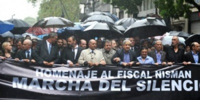 """Fiscales convocaron a una nueva """"Marcha del Silencio"""" en reclamo de justicia por Nisman"""