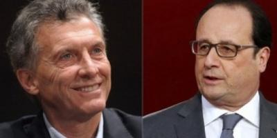 Confirmaron la fecha en la que Hollande visitará el país para reunirse con Macri
