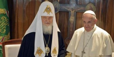 """Francisco, tras su reunión con el patriarca ruso Cirilo: """"He sentido la consolación del espíritu en este diálogo&quot"""