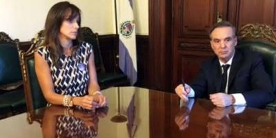 Miguel Ángel Pichetto y Malena Galmarini se reunieron para consensuar un proyecto sobre igualdad de género