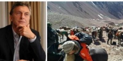 Mauricio Macri viaja a la Cordillera para anunciar la quita total de las retenciones para la minería