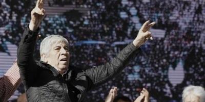 """Hugo Moyano: """"Al que se ponga en contra de los trabajadores lo vamos a enfrentar"""""""