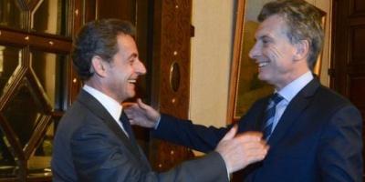 Macri recibió a Sarkozy y hablaron de Europa y América Latina