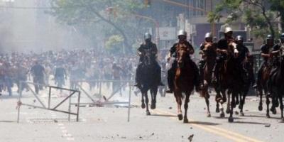Represión de 2001: condenaron a cuatro años y 9 meses de cárcel a Enrique Mathov y a 4 años a Rubén Santos
