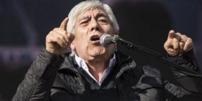 """Hugo Moyano amenaza: """"Si hay intervención de la AFA, se para el fútbol"""""""