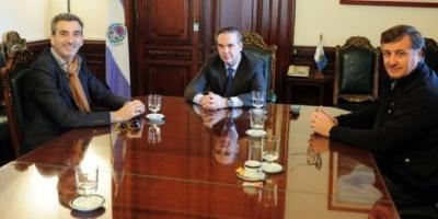 Miguel Pichetto y Florencio Randazzo se reunieron en el Senado