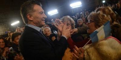 Mauricio Macri anunció el pago de juicios y aumento para los jubilados y el blanqueo de capitales
