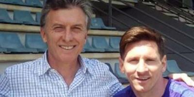"""Macri apoyó a Messi y le pidió que siga en la Selección """"muchos años"""""""