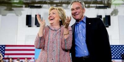 Hillary Clinton anunció que el senador Tim Kaine será su compañero de fórmula