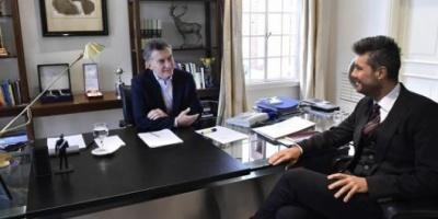 En la Quinta de Olivos Macri recibió a Tinelli en un distendido encuentro
