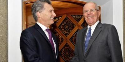 Mauricio Macri ya está en Perú para la asunción de Pedro Kuczynski