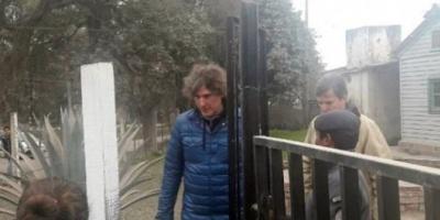 """Amado Boudou visitó a Milagro Sala en la cárcel y sostuvo que es una """"presa política"""""""