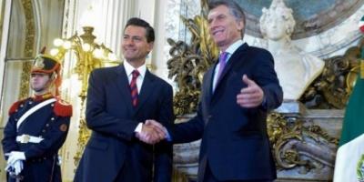 Mauricio Macri y el presidente Peña Nieto firmaron acuerdos bilaterales en Casa Rosada