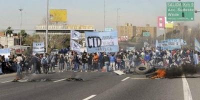 El Gobierno denunciará penalmente a los piqueteros de la autopista Buenos Aires-La Plata