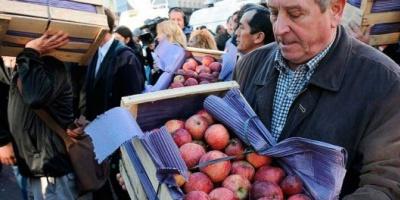 Los fruticultores se reunieron con Buryaile y le pidieron un precio sostén para la fruta