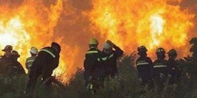 Incendio forestal descontrolado y evacuación en San Luis