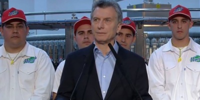 """Macri llamó a los argentinos a tener """"compromiso con la cultura del trabajo"""""""