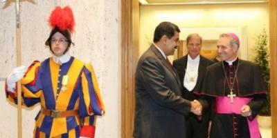 El Papa recibió a Maduro y el Vaticano anunció la apertura del diálogo con la oposición venezolana