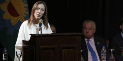 """María Eugenia Vidal le habló a los jueces: """"Las penas deben cumplirse"""""""