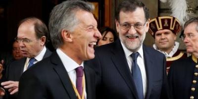 """Guiño de Rajoy a Macri en España: """"La Argentina ahora es un país en marcha"""""""