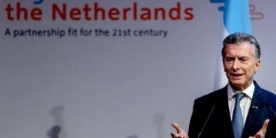 """""""La herramienta principal para construir el futuro es el diálogo"""", dijo Macri en Holanda"""