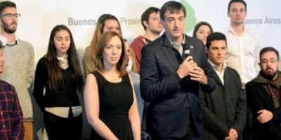 María Eugenia Vidal y Esteban Bullrich se mostraron juntos en acto con impronta electoral