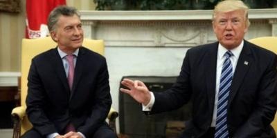"""Contundente apoyo de Trump a Macri: """"Ha mejorado el clima de inversión y de desarrollo económico"""""""