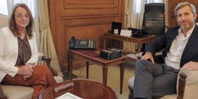 """Frigerio recibe a Alicia Kirchner y en el Gobierno aseguran que están """"muy cerca"""" de un acuerdo"""
