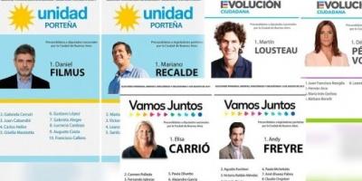 Elisa Carrió, Martín Lousteau y el kirchnerismo darán batalla en Capital Federal
