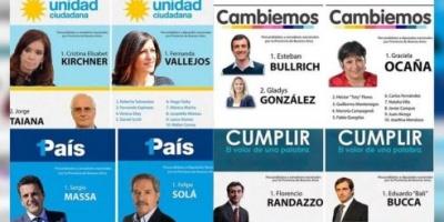 Cristina Kirchner, Esteban Bullrich, Sergio Massa y Florencio Randazzo competirán en la Provincia de Buenos Aires