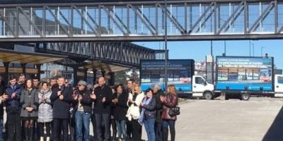 Impresionante operativo de seguridad por la visita de Mauricio Macri a La Matanza