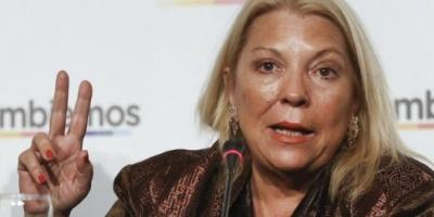 """Carrió respondió a las críticas y dijo que a De Vido le corresponde """"una sanción administrativa de Diputados"""""""