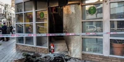 Encapuchados atacaron un edificio de Gendarmería Nacional